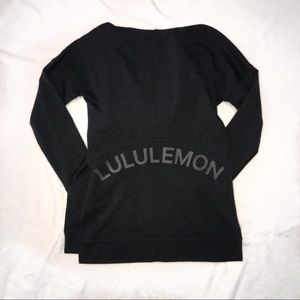 Navy Lululemon Sweatshirt